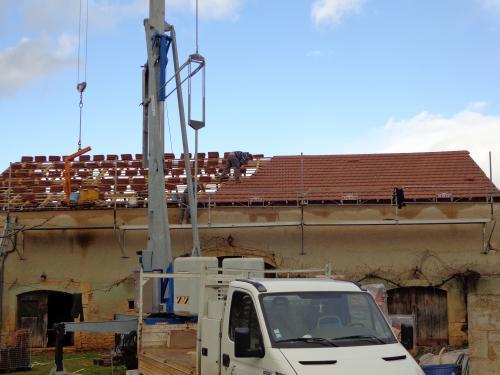 Isolation de toiture près de Fumel .2
