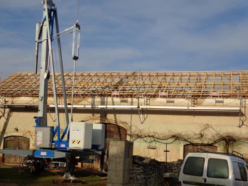 Isolation de toiture près de Fumel .1