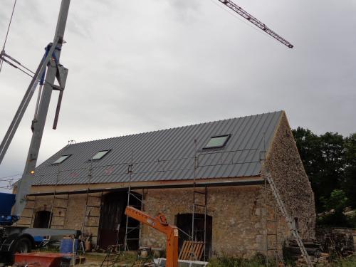 Pose de toit vélux à Puy-L'Evêque .2